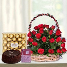 Red Basket Hamper